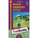 Beskid Sądecki mapa elektroniczna GPS Trek Buddy