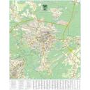 Zielona Góra - plan miasta