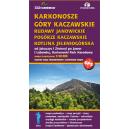 Karkonosze, Góry Kaczawskie, Rudawy Janowickie, Pogórze Kaczawskie, Kotlina Jeleniogórska 1:50 000
