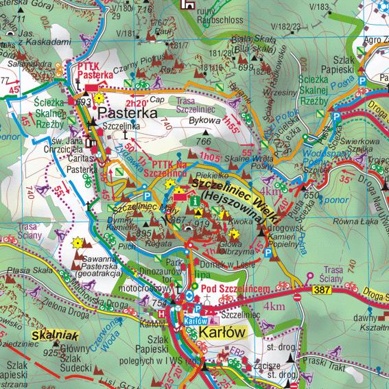 fragment Gór Bystrzyckich