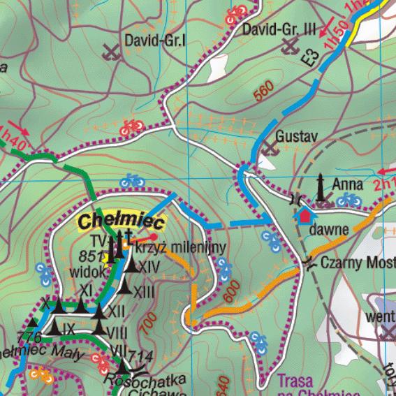 fragment Gór Wałbrzyskich