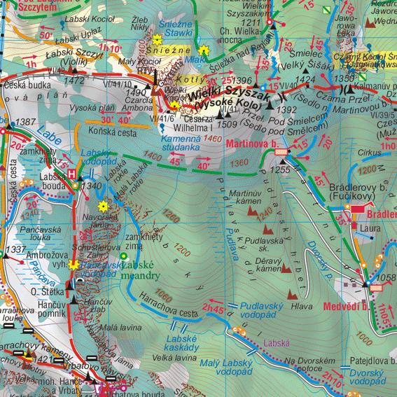 fragment Góry Izerskie