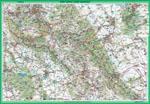awers mapy Góry Sowie