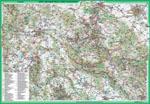 awers mapy Góry Wałbrzyskie