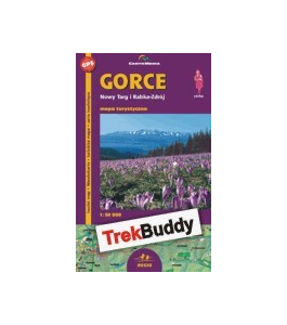 Gorce mapa GPS Trek Buddy