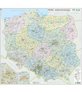 POLSKA administracyjno - drogowa