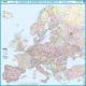 EUROPA z kodami pocztowymi