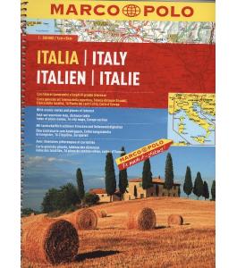 Włochy atlas samochodowy