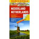 Holandia - mapa samochodowa 1:300 000