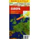 Europa - mapa samochodowa 1:2,5 mln.