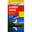 Szwajcaria - mapa samochodowa 1:300 000