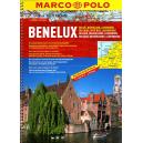 Benelux - atlas samochodowy 1:200 000