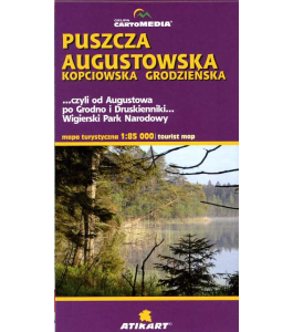 Puszcza Augustowska 1:85 000
