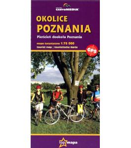 Okolice Poznania 1:75 000