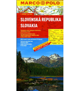 Słowacja - mapa samochodowa 1:300 000