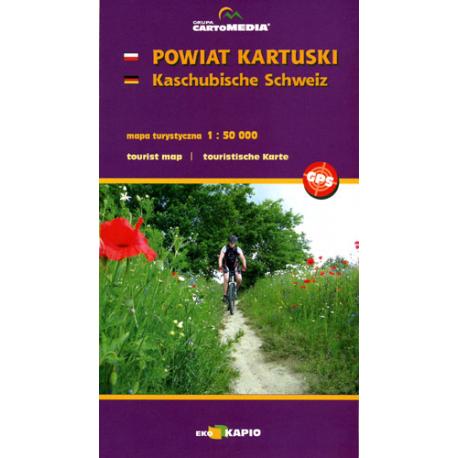 Powiat kartuski - mapa turystyczna 1:50 000, Kaschubische Schweiz