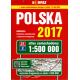 Polska atlas samochodowy 1:500 000