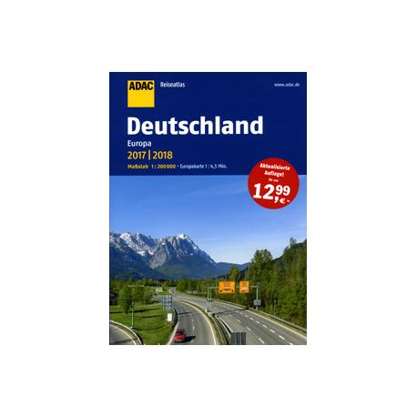 Niemcy - atlas samochodowy 1:200 000 ADAC