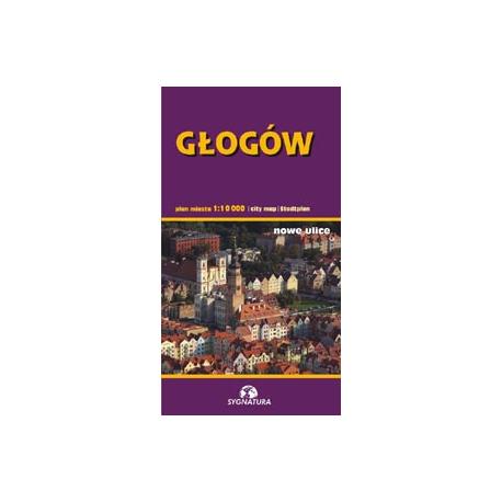 Głogów - plan miasta