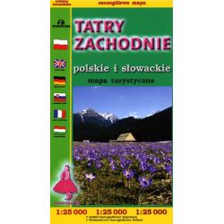 Tatry Zachodnie 1:25 000 FOLIOWANA