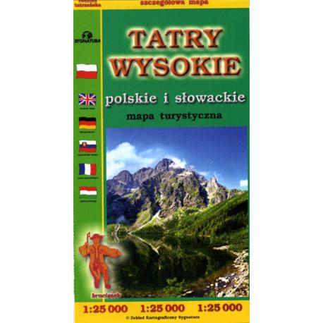 Tatry Wysokie 1:25 000 FOLIOWANA
