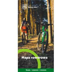 Zzielona Góra mapa rowerowa