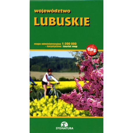 Województwo lubuskie 1:200 000